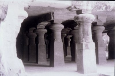 A View of a Cave Complex, Elephanta