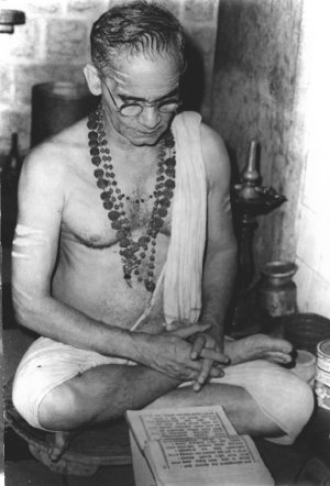 Scholar Devate Bhat of Gokarn