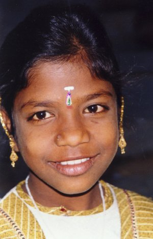A Girl Growing up on the streets of India