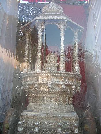 Silver Chariot of Kadri Temple