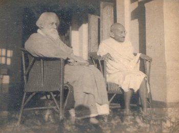 Tagore and Gandhi