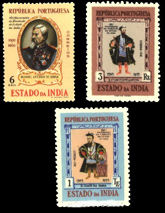 Stamps of Portuguese Colonized India