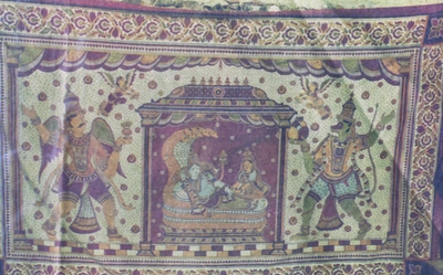 Garuda, Vishnu and Anjaneya
