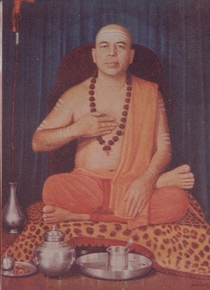 The Anandashram Swamiji of Shirali Muth