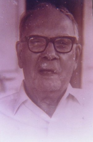 Portrait of Dr. R.C. Majumdar