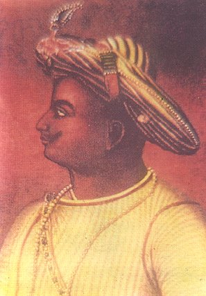 Portrait of Tippu Sultan