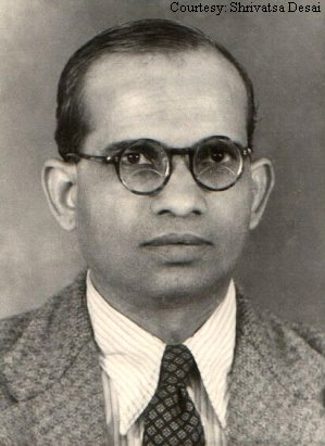 Portrait of P. B. Desai