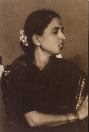Portrait of M. K. Indira
