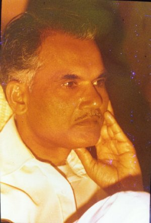 Portrait of S. L. Bhyrappa