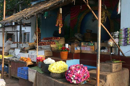Vendors Opening Shop, Early Morning