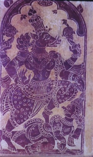 Lord Vishnu as a Wild Boar