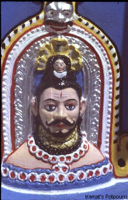 Lord Shiva from Mangeshi Temple in Goa