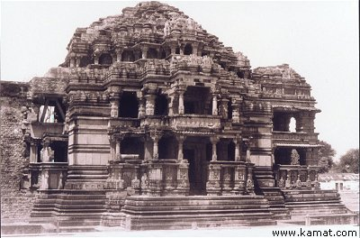 Temple from Gwalior Fort Family