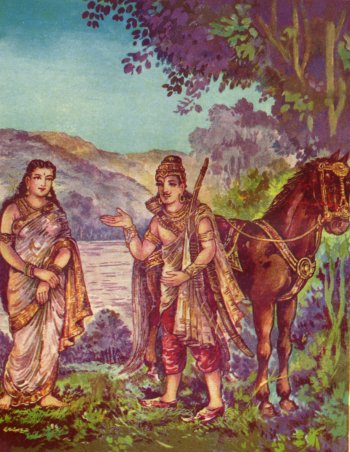 King Shantanu and Satyavati