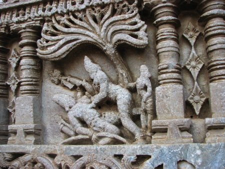 Lord Shiva and Arjuna Pick a Fight