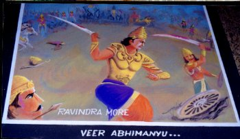 Warrior Abhimanyu