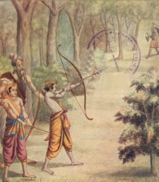 Rama Killing Demon Tataka