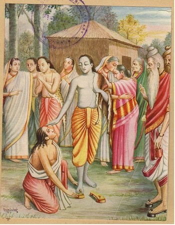 Bharata Asks for Rama`s Footwear