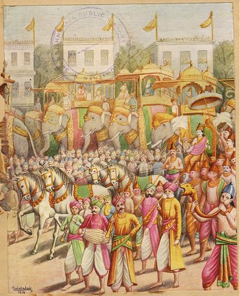 Rama Returns to Ayodhya
