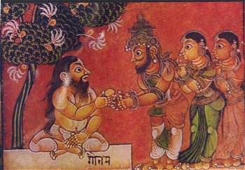 Dasharatha Gets  the Boon of Progeny