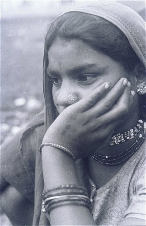 Woman Belonging to the Mavashia Community