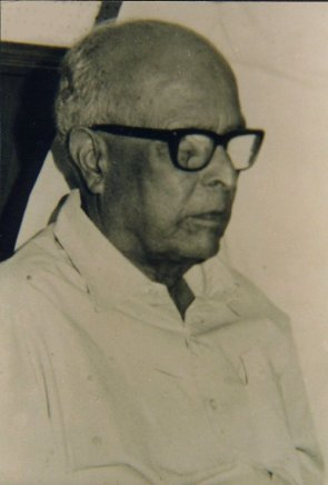 Dr. R. K. Narayan. Well-known English writer