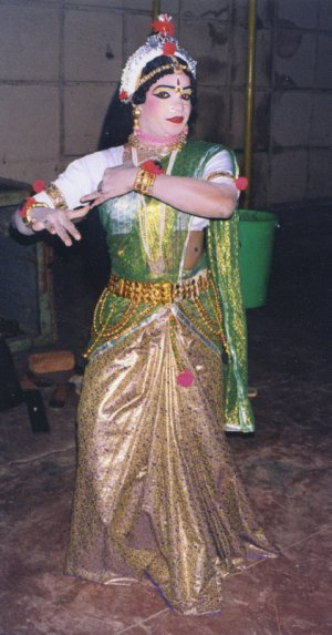 Cross Dressing in Indian Theater