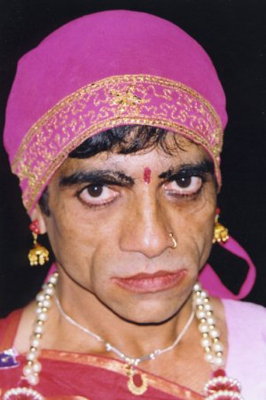 Makeup   on Cross Dressing In India   Makeup And Jewelry Do Not Make A Woman