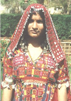 Gypsy Woman and her Jewelry