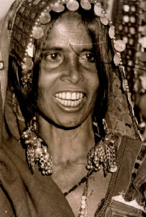 Smile of a Gypsy Woman