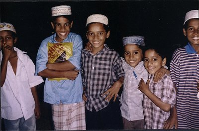 Students at a Islamic School