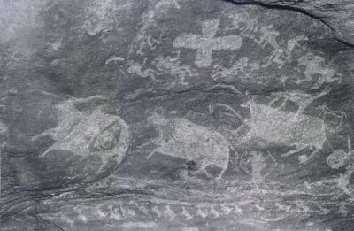 Pachmari Cave Paintings