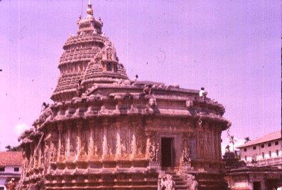 Vidyaranya Temple Building at Sringeri