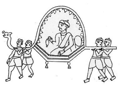 The Transportation of Palanquin