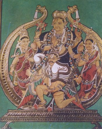 Garuda Carrying Lord Vishnu