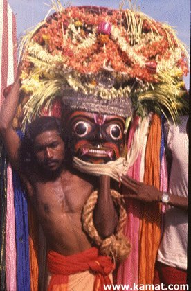 Flowers for the Karaga Festival