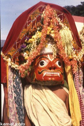 Mask of Somana Kunita