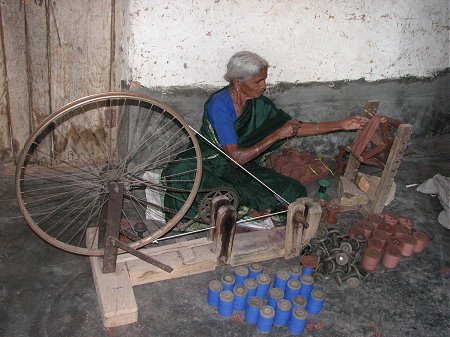 The Spinning Wheel