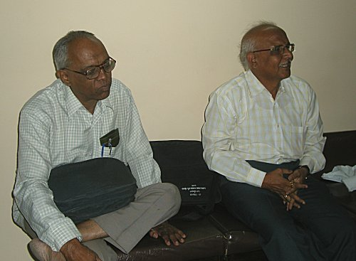 Professors K.R. Ganesh and R. Seshasastry