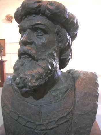 Bust of Vasco da Gama