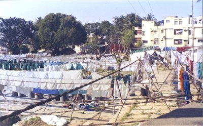 At the Dhobi Ghat