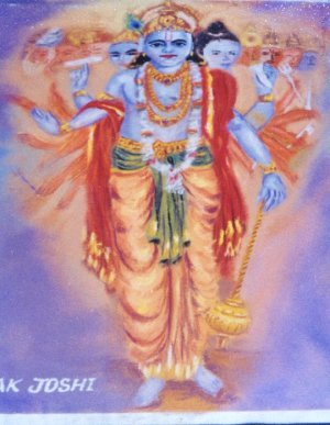 Vision of Krishna`s Totality
