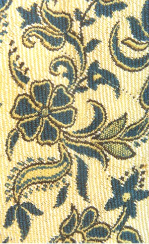 Woven Flowers on Cloth