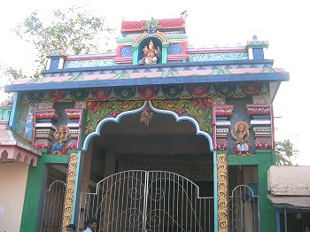 Painted Entrance