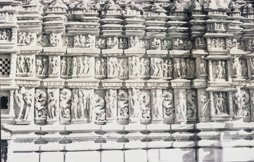 Erotic Panels of a Temple