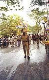 Commencement of a Chariot Festival