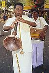Musicians at a Temple Procession