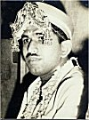 A Bride-groom with his Head-gear