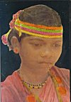 Tribal Girl of Bastar