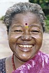 Portrait of a Siddi Woman
